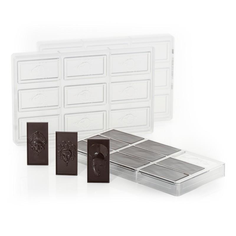 moule tablette chocolat séries Masques