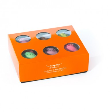 coffret série Dessert Orange