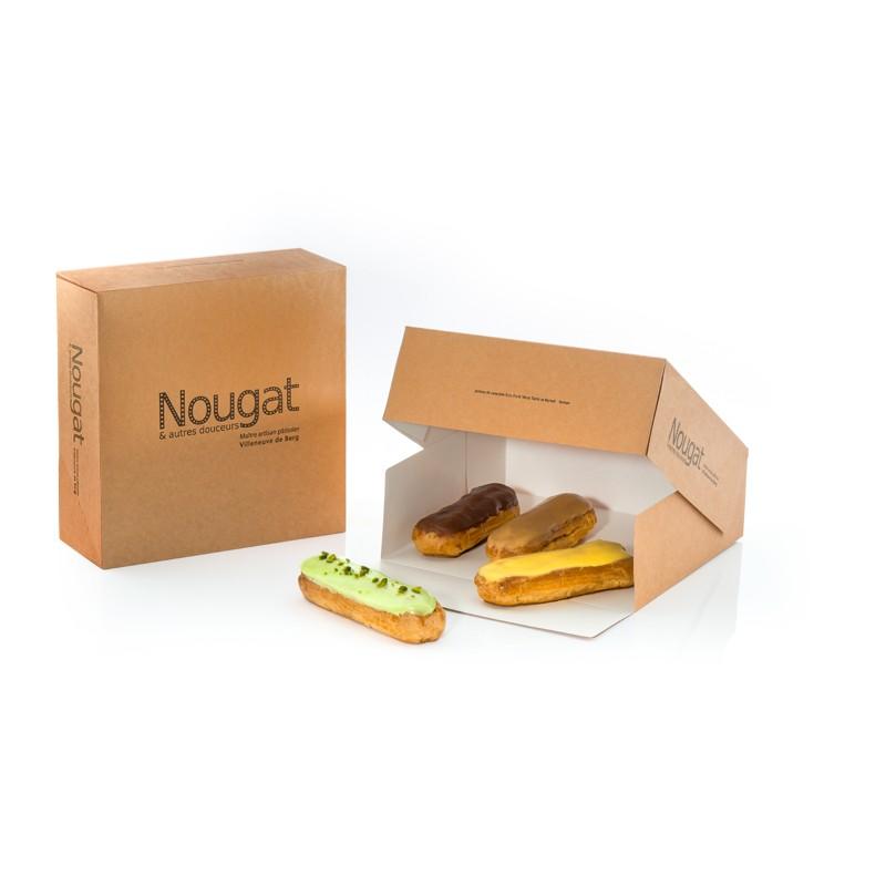 boîte pâtissière série Nougat