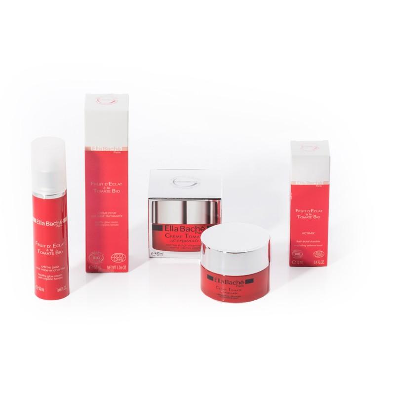 Création d'emballages pour cosmétiques Ella Baché