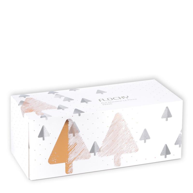 Boîte Bûche Flocky