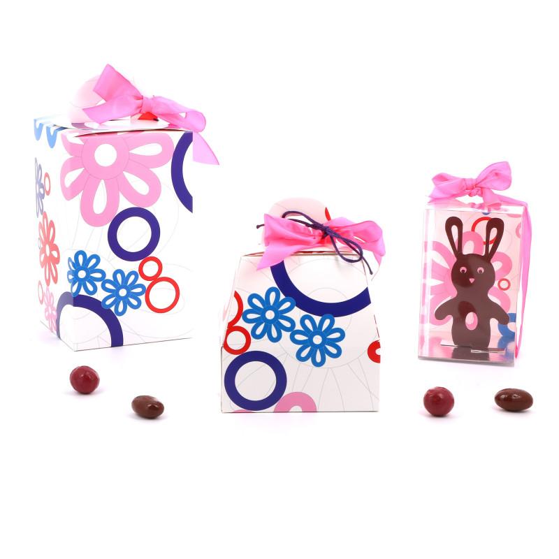 Emballage de Pâques - Boîte Oeuf - Série Bouquet