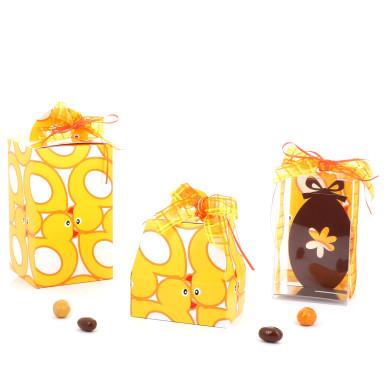 Emballages de Pâques - Boîte Oeuf - Série Canari