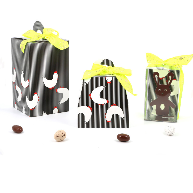 Emballage de Pâques - Boîte Oeuf - Série Coquette