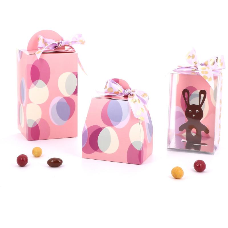 Emballage de Pâques - Boîte Oeuf - Série Guimauve
