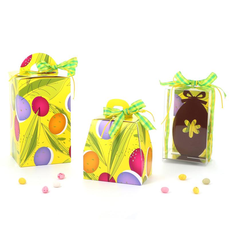 Emballage de Pâques- Boîte Oeuf - Série Tulipes